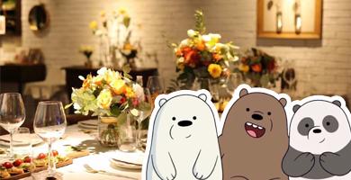 仙气十足!今天我们去花房餐厅吃饭